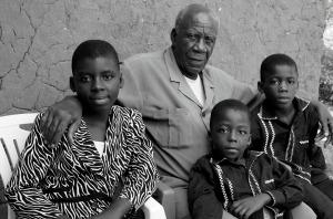Grandpa & kids